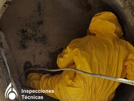 rehabilitación de tuberías con packers Málaga